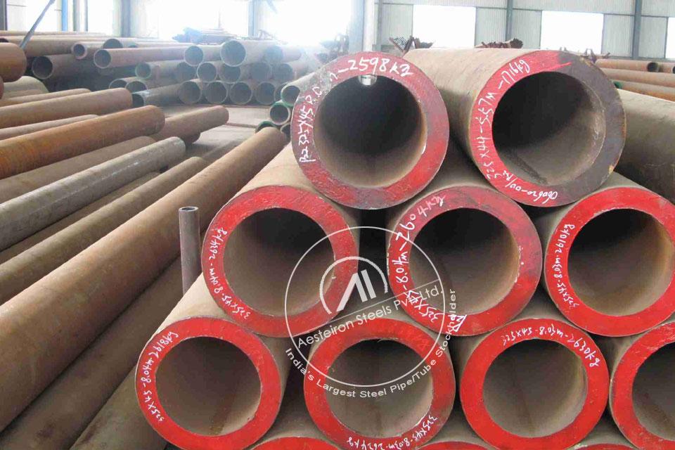ASTM A213 T122 Alloy Steel Tube in Aesteiron Steel Stockyard