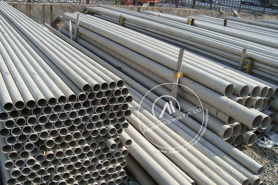 ASTM A213 T17 Alloy Steel Tube in Aesteiron Steel Stockyard