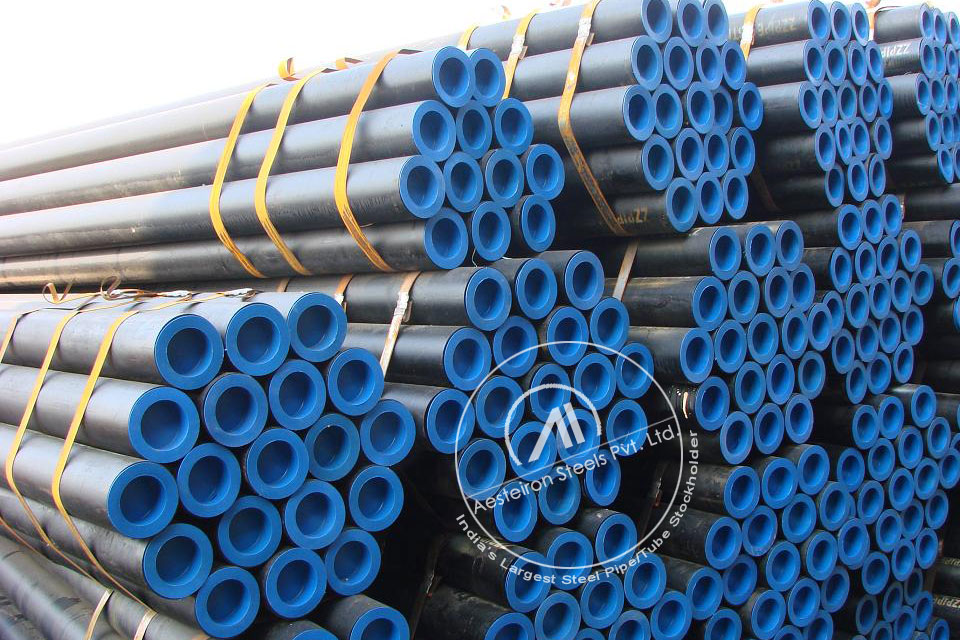 ASTM A213 T24 Alloy Steel Tube in Aesteiron Steel Stockyard