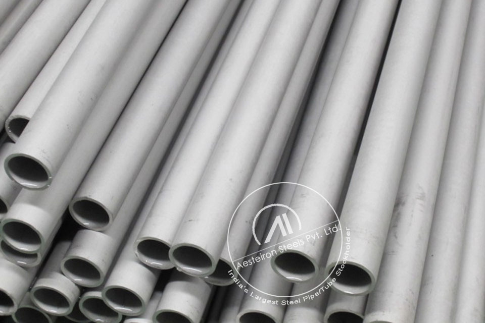 ASTM A213 T9 Alloy Steel Tube in Aesteiron Steel Stockyard