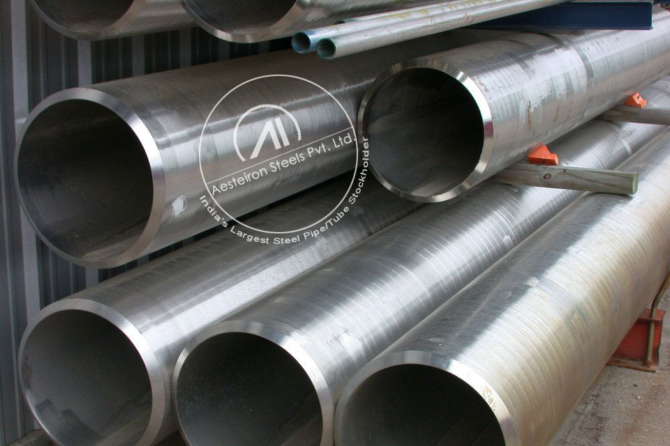 ASTM A335 P122 Alloy Steel Pipe in Aesteiron Steel Stockyard