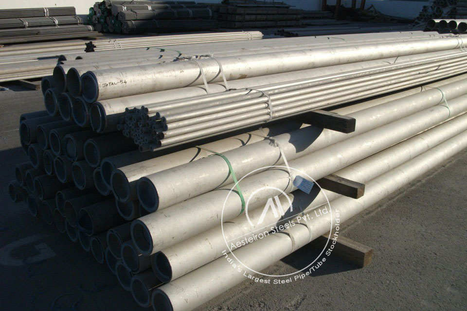 ASTM A335 P23 Alloy Steel Pipe in Aesteiron Steel Stockyard