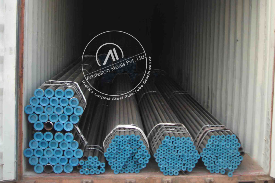 ASTM A335 P911 Alloy Steel Pipe in Aesteiron Steel Stockyard
