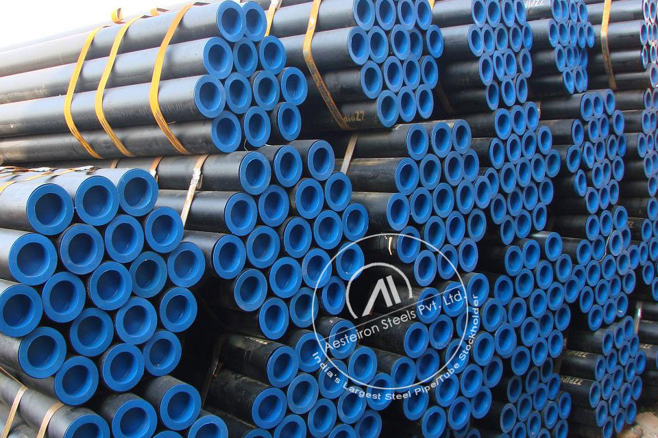 ASTM A335 P92 Alloy Steel Pipe in Aesteiron Steel Stockyard