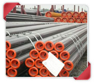 ASTM A335 P21 Alloy Steel Pipe in Aesteiron Steel Stockyard