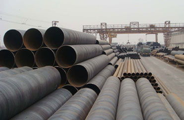 A252 Grade 3 spiral weld pipe