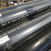 SMLS Carbon Steel Pipe, BE, 6M, 10 Inch, SCH 20